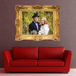 Samolepka na zeď 70x60 cm Zlatý obraz