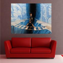 Samolepka na zeď 80x60 cm  s neomezeným počtem fotografií, textů, barev