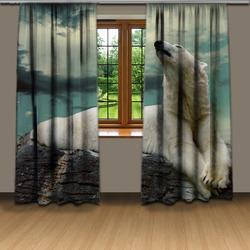 Závěsy Lední medvěd