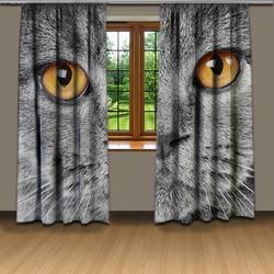 Závěsy Kočičí pohled