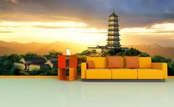 Fototapeta Asijská věž