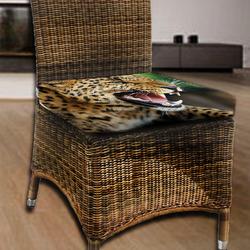Podsedák Zuřivý gepard 40x40x2 cm