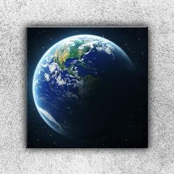 Foto na plátno Zeměkoule 2 50x50 cm