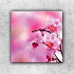 Foto na plátno Růžová větvička 2 50x50 cm