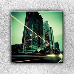Foto na plátno Světla velkoměsta 3 50x50 cm