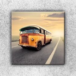 Foto na plátno Retro autobus 2 50x50 cm