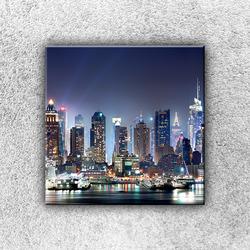 Foto na plátno Město světel 1 30x30 cm