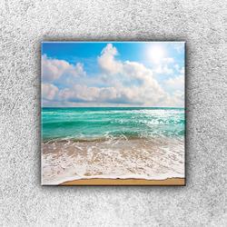 Foto na plátno Tyrkysové moře 1 30x30 cm