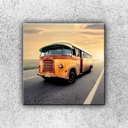 Foto na plátno Starý autobus 1 30x30 cm