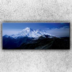 Foto na plátno Zasněžená hora 1 150x60 cm