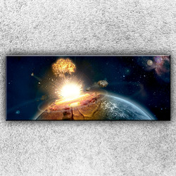 Foto na plátno Dopad meteoritu 2 150x60 cm
