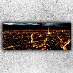Foto na plátno Noční paříž 3 150x60 cm