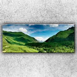 Foto na plátno Zelené hory 1 150x60 cm
