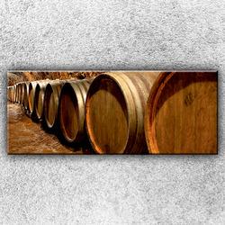 Foto na plátno Sudy na víno 1 150x60 cm