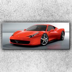Foto na plátno Rudé Ferrari 150x60 cm