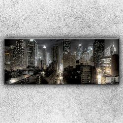 Foto na plátno Temné město 2 150x60 cm