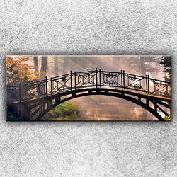 Foto na plátno Ocelový mostek 2 150x60 cm