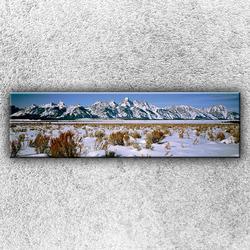 Foto na plátno Horské panorama 140x40 cm