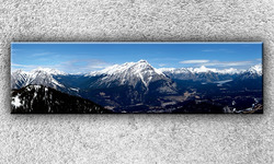 Foto na plátno Skalnaté hory 3 140x40 cm