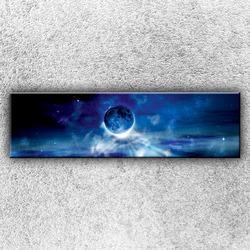 Foto na plátno Modrá planeta 140x40 cm