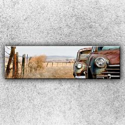 Foto na plátno Stará auta 140x40 cm