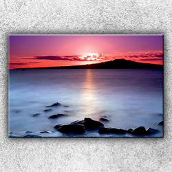 Foto na plátno Červánky nad mořem 120x80 cm