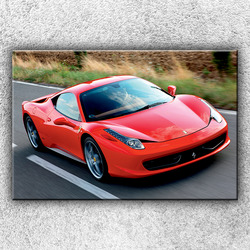 Foto na plátno Červené Ferrari 2 120x80 cm