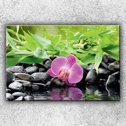 Foto na plátno Růžová orchidej 2 120x80 cm