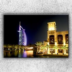 Foto na plátno Mrakodrap v Dubaji 120x80 cm