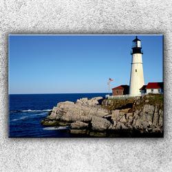 Foto na plátno Skaliska v moři 2 120x80 cm