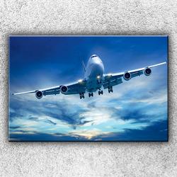 Foto na plátno Dopravní letadlo 2 120x80 cm