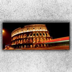 Foto na plátno Noční Koloseum 1 120x50 cm