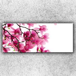 Foto na plátno Růžová větvička 1 120x50 cm