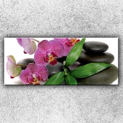 Foto na plátno Květy orchidejí 1 120x50 cm