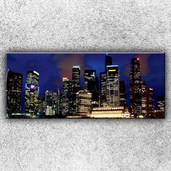 Foto na plátno Světla velkoměsta 120x50 cm