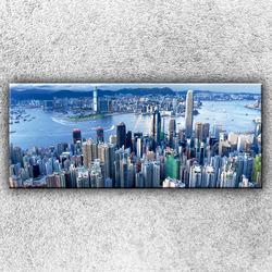 Foto na plátno Panorama města 3 120x50 cm