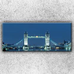 Foto na plátno Noční Tower Bridge 1 120x50 cm