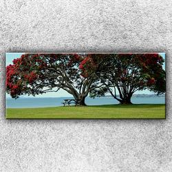 Foto na plátno Červené stromy 1 120x50 cm