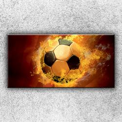 Foto na plátno Plamenný míč 100x50 cm
