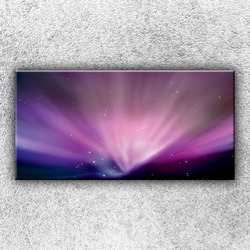 Foto na plátno Růžová záře 1 100x50 cm