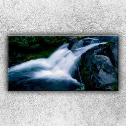 Foto na plátno Peřeje 100x50 cm