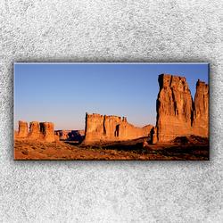Foto na plátno Skalnaté údolí 100x50 cm