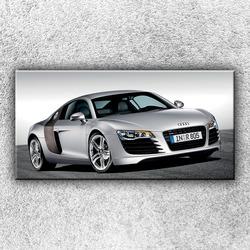 Foto na plátno Stříbrné Audi 1 100x50 cm