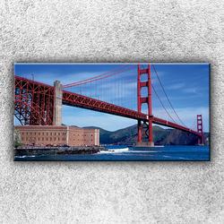 Foto na plátno Golden Gate 100x50 cm