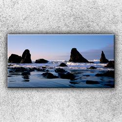 Foto na plátno Skaliska v moři 1 100x50 cm
