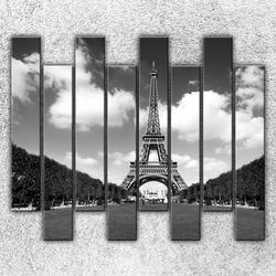 Foto na plátno Eiffelova věž z dálky 160x140 cm