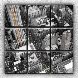 Foto na plátno Letecký pohled na New York 3 90x90 cm