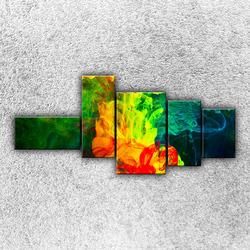Foto na plátno Rozpuštěné barvy 3 130x60 cm