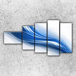 Foto na plátno Modrá vlna 2 110x60 cm