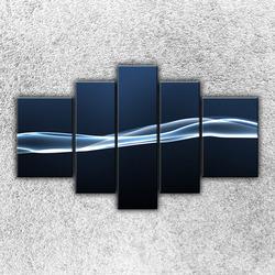 Foto na plátno Modrá vlna 3 125x90 cm